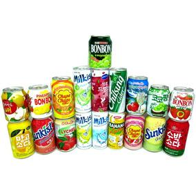 Kit Sucos Refrigerantes Coreano Importados 19 Sabores Hachi8