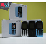 Nokia 105 Liberado Con Garantia Blanco/negro/azul