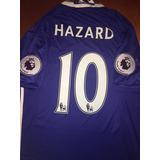 Jersey Chelsea Fc 16/17 100% Original Numero 10 Eden Hazard