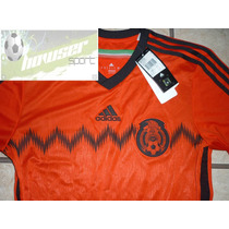Jersey Adidas Seleccion Mexicana Visita 100%orignal*oferta