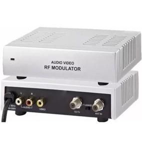 Modulador Conversor Rf Tv Saidas De Canais Canal 3 / 4 E145