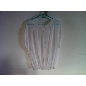 Camisa Damas Zara Basic Como Nueva Aproveche Talla M