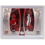 2005-06 Upper Deck Michael Jordan / Lebron James #ljmj5