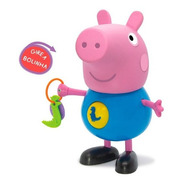 Boneco Peppa Pig George C/ Atividades - 1098 Elka