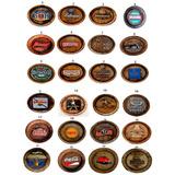 Tampa-barril Decorativa Gesso: Pubs-bar-churrasco-cerveja