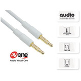Cable Miniplug A Miniplug Stereo 3.5mm Macho A Macho 2mts