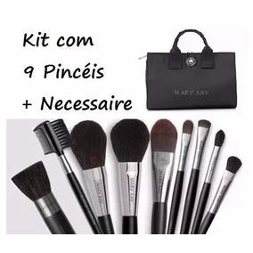 Kit De Pincéis Maquiagem Profissional Mary Kay - Original