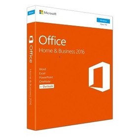 Microsoft Fpp Office Home And Business 2016 32/64-bit