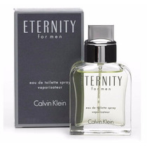 Lote De 30 Perfumes Eternity For Men Calvin Klein 100ml