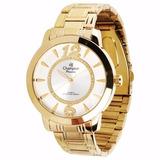 Relógio Champion Feminino Passion Ch24259h. Modelo Analógico