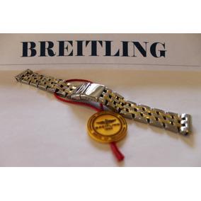 Bracilete Breitling Aço E Ouro 100% Autentico,