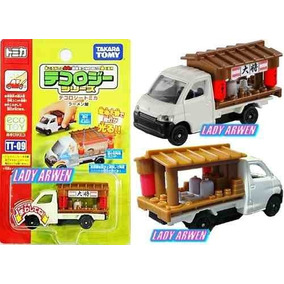 Tomica Tecology Ramen Shop Camion Metalico 1/58 Luz Led