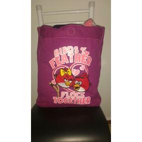 Imperdível!!! Promoção Bolsa Angry Bird Dupla Face.