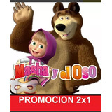 Kit Imprimible Modificable Masha Y El Oso Fiesta 2x1