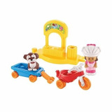 Little People Paseo En Triciclo Nana Perro Fisher Price