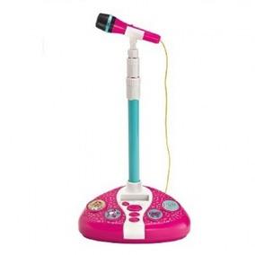 Microfone Karaokê Fabuloso Barbie - Fun