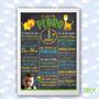 Quadro Chalkboard Infantil - Casal - Adulto - Namorados