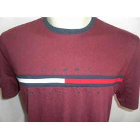 02 Camisetas Tommy Hilfiger Logo 100% Original