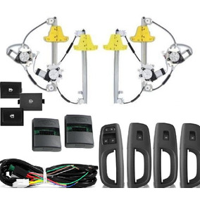 Kit Vidro Elétrico Gol G5 4 Portas Completo Sensorizado
