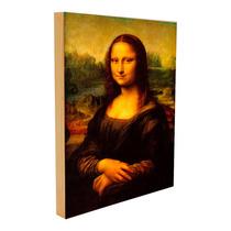 La Mona Lisa (la Gioconda) Sobre Lienzo Envio Gratis 50x75cm
