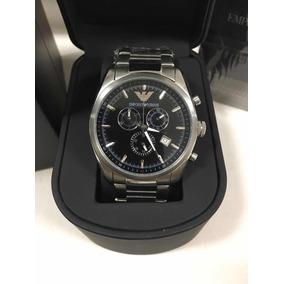 da0223a230a Relogio Emporio Armani Preto Aco - Relógios De Pulso no Mercado ...
