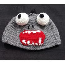 Gorro Lana Tejido Al Crochet - Plants Vs Zombies