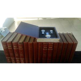 16 Livros Da Enciclopedia Barsa Com 2 Relogios Em Cada Volum