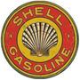 Adesivo - Shell Gasoline Vintage