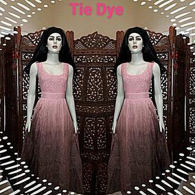 Vestidos Longo Lese Bordados Tie Dye Retro Princesa