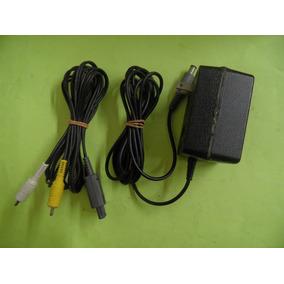 Kit Snes Fonte Orig 110v + Cabo Av Orig Super Nintendo
