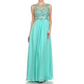 Vestido De Fiesta Juliet Modelo 571 # 2xl Color Jade