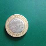 Moneda Conmemorativa Diez Pesos Batalla De Puebla