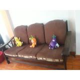 Juego De Sala 3 Modulares Un Sofa Y 2 Chicos
