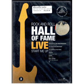 Dvd - Hall Of Fame - Start Me Up - Vol. 3