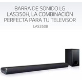 Barra De Sonido Lg Las350b 2.1ch Totalmente Nueva