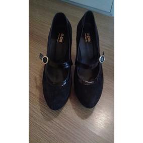 Zapatos De Taco Alto T.36