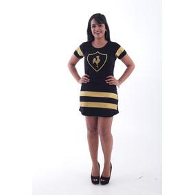 Vestido Atlético Mineiro Galo Volp Dourado
