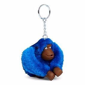 Chaveiro Kipling Macaco Azul (rose) - Original