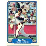 Barajita Baudilio Diaz Indians Fleer 1982 # 364