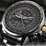 Reloj Shark Militar Deportivo Infanteria Alarma Cronometro