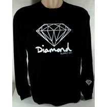 Camiseta Diamond Supply Co Dgk Grizzly Lrg Supreme Huf Obey