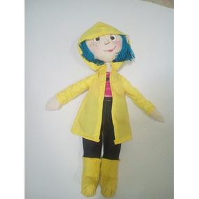 Muñeca Coraline Jones Carita Pintada En Manta