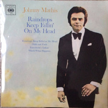 Vinil Compacto Duplo - Johnny Mathis - Ano 1970.