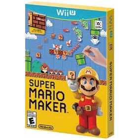Super Mario Maker Wii U Nintendo Original + Livro Ideabook