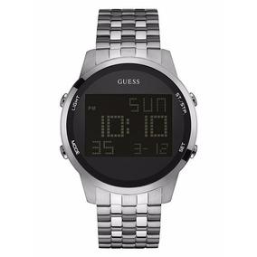 Reloj Guess Digital W0786g1 Plateado Caballero Envío Gratis*