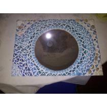 Espejo Con Tecnica En Mosaiquismo