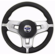 Volante Esportivo Mustang Ford Del Rey / Pampa Prata Novo