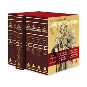 Comentário Bíblico Champlin A. T. Versiculo Por Versiculo
