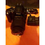 Camara Reflex Nikon D5000 Bateria Extra Solo $4999 Todo