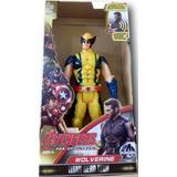 Boneco Wolverine Avengers Infantil 30cm Com Led